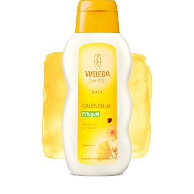 Масло с календулой для младенцев с нежным ароматом weleda (Weleda)