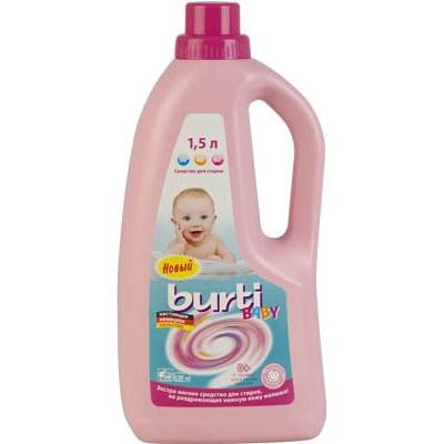 Универсальное жидкое средство для стирки детского белья  liquid baby burti