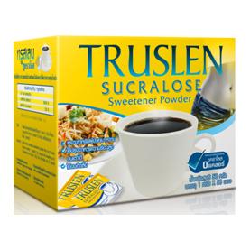 Сахарозаменитель сукралоза sucralose truslen