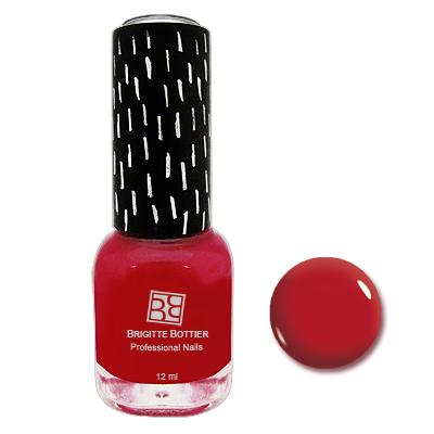 Гелевый лак gf насыщенно-красный (тон 10) brigitte bottier (Brigitte Bottier)