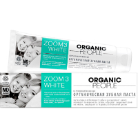 Зубная паста  Zoom 3 White  Organic people