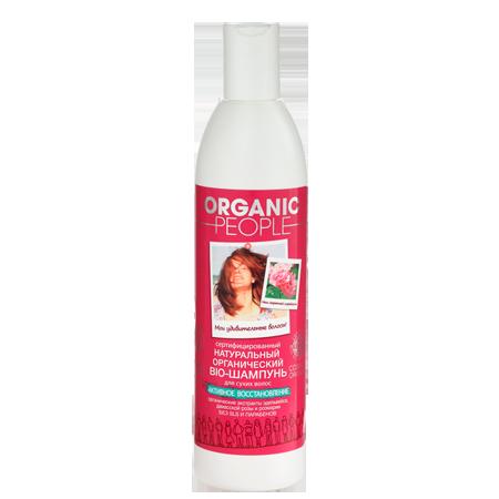 Шампунь для волос активное восстановление organic people (Organic People)