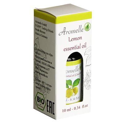 Эфирное масло лимона aromelle