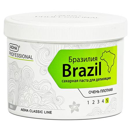 Паста для шугаринга бразилия (очень плотная)  800г.  аюна