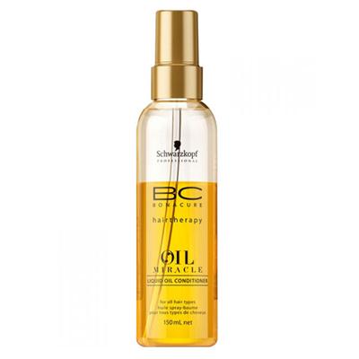 Спрей-кондиционер золотое сияние для волос bc bonacure oil miracle liquid oil spray conditioner, 150 мл schwarzkopf professional (Schwarzkopf Professional)
