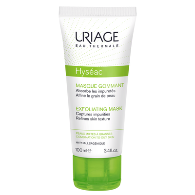 Исеак - мягкая отшелушивающая маска uriage