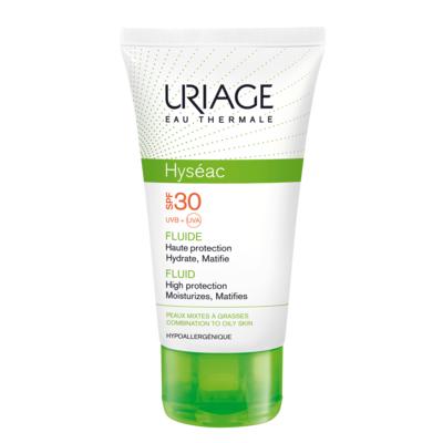 Исеак - солнцезащитная эмульсия spf 30 uriage