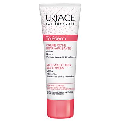 Толедерм риш питательный успокаивающий крем для сухой кожи uriage