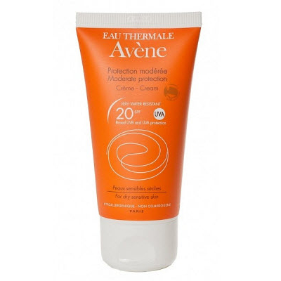 Солнцезащитный крем spf20 sun care, 50 мл avene