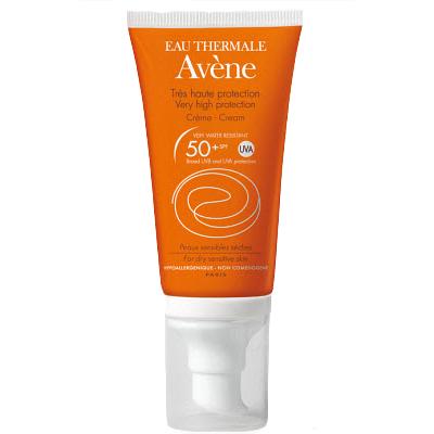 Солнцезащитный крем spf 50+ sun care, 50 мл avene