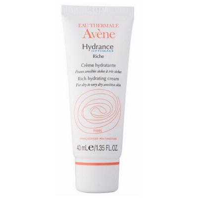 Увлажняющий крем для сухой кожи hydrance optimale riche, 40 мл avene (Avene)