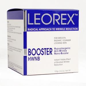 Гипоаллергенная нано-маска для экспресс - разглаживания морщин для нормальной кожи booster active (hwnb) leorex (10 саше).