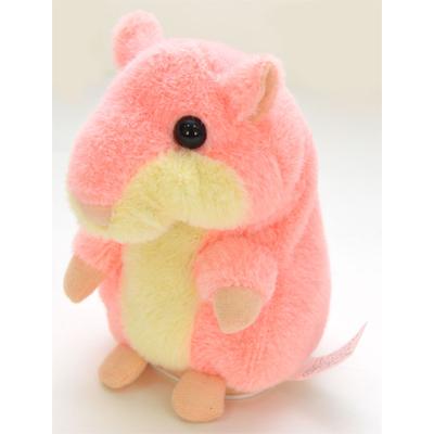 Интерактивная игрушка говорящий хомяк розовый woodyotime (WoodyOTime)