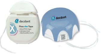 Зубной флосс floss implant chx medium для протезов, имплантатов (диаметр 2,2 мм) miradent/docdont