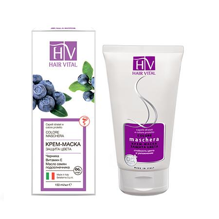 Крем-маска защита цвета hair vital