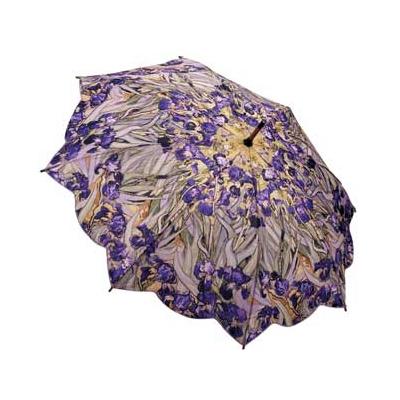 Зонт-трость по картине ван гога ирисы galleria