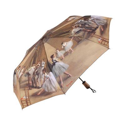 Складной зонт автомат по картине дега балетная школа galleria (Galleria)