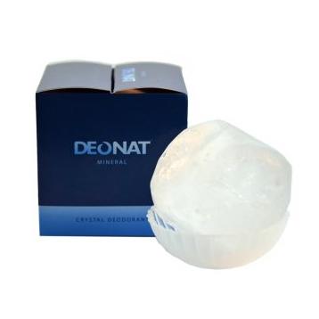 Кристалл природной формы на подставке в подарочной коробочке deonat