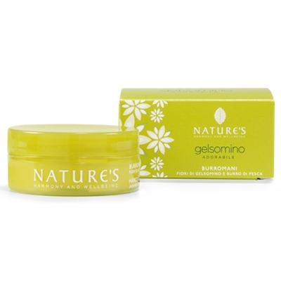 Gelsomino крем для рук с жасмином и персиковым маслом natures (Natures)