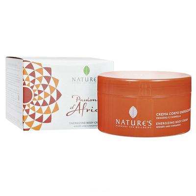 Passione dafrica крем для тела энергетический с имбирем и корицей natures (Natures)