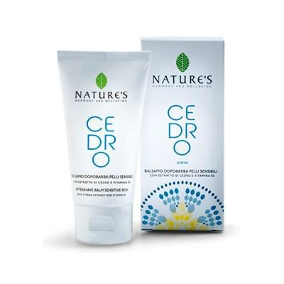 Cedro бальзам после бритья для чувствительной кожи natures (Natures)