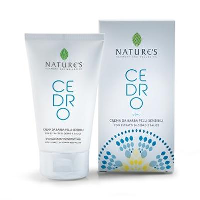 Cedro крем для бритья для чувствительной кожи natures (Natures)