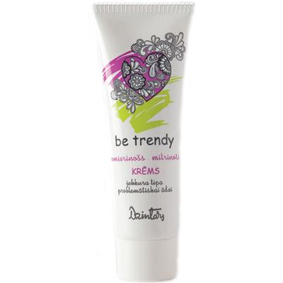 Be trendy успокаивающий увлажняющий кожу крем dzintars