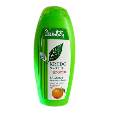 Kredo natur aroma бальзам ополаскиватель с апельсиновым маслом для любого типа волос dzintars (Dzintars)