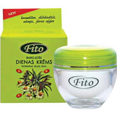 Fito дневной питательный крем для нормальной кожи лица dzintars
