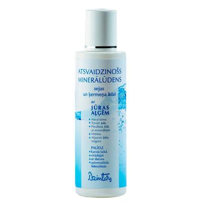 Освежающая минеральная вода для кожи лица и тела с морскими водорослями dzintars (Dzintars)