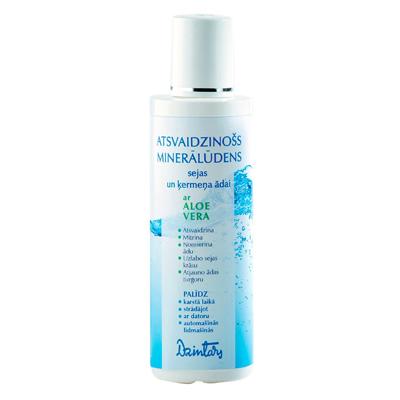 Освежающая минеральная вода для кожи лица и тела с алоэ вера dzintars (Dzintars)
