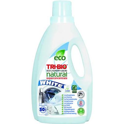 TRI-BIO Натуральная эко-жидкость для стирки белого белья 1,42л tri - bio