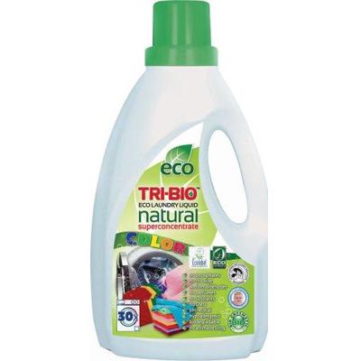 Натуральная эко-жидкость для стирки цветного белья 1,42л tri - bio (TRI-BIO)