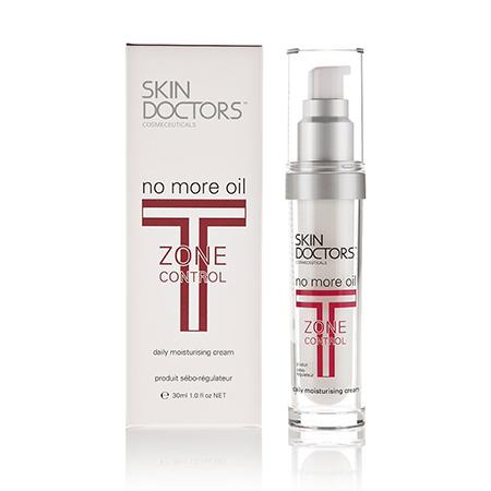 Крем для удаления жирного блеска t-zone control no more oil 30мл skin doctors