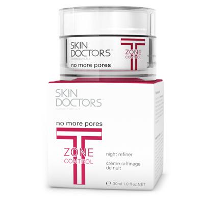 Ночной крем сужающий поры t-zone control no more pores 30мл skin doctors (Skin Doctors)