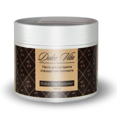 Сахарная паста для эпиляции estandar (стандартная) 500 гр. dolce vita (Dolce Vita)