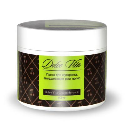 Сахарная паста для эпиляции замедляющая рост волос 500 гр. dolce vita (Dolce Vita)