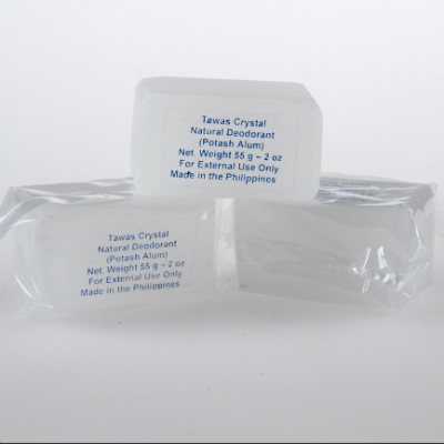 Кристалл-слиток супер-мини брусок с глицерином  в прозрачном пакете tawas crystal