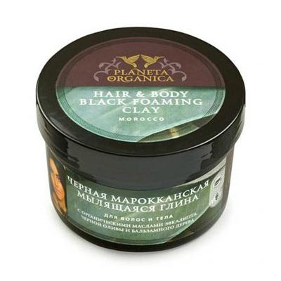 Мыло для волос и тела мылящаяся глина planeta organica (Planeta Organica)