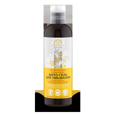Гель-фито очищающий для умывания для жирной и комбинированной кожи planeta organica (Planeta Organica)