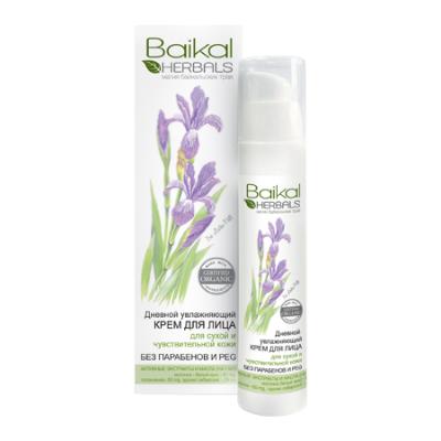 Дневной крем для лица увлажняющий baikal herbals (Baikal Herbals)