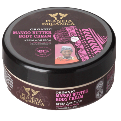 Крем для тела на манговом масле planeta organica africa (Planeta Organica)