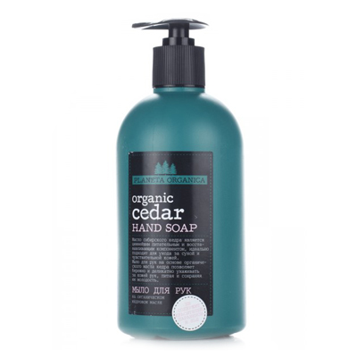 Мыло для рук organic cedar planeta organica (Planeta Organica)