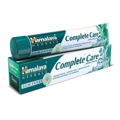 Зубная паста complete care для комплексной защиты зубов и десен himalaya herbals (Himalaya)