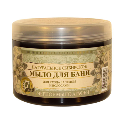 Черное мыло агафьи натуральное сибирское мыло для бани рецепты бабушки агафьи