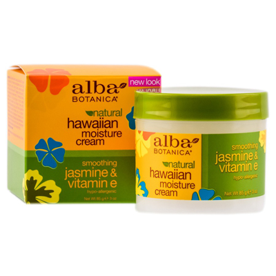 Гавайский увлажняющий крем для лица жасмин и витамин е alba botanica