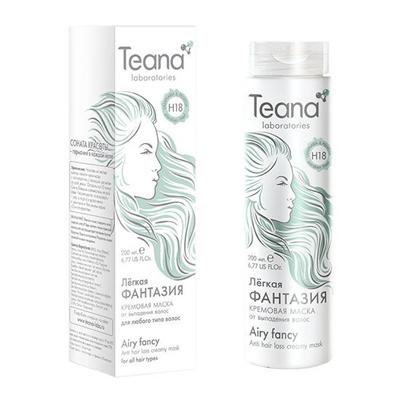 Кремовая маска от потери волос с ламинарией и пельвецией teana