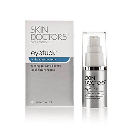 Крем для уменьшения мешков и отечности под глазами eyetuck skin doctors