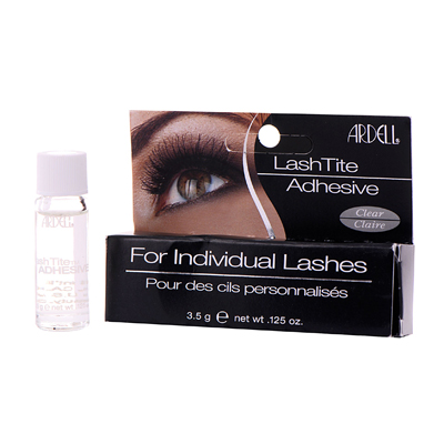 Клей для пучков ресниц прозрачный lash tite ardell