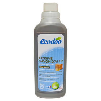 Универсальное жидкое средство для стирки белья с мылом alep ecodoo
